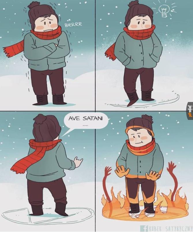 Jak się ogrzać zimą