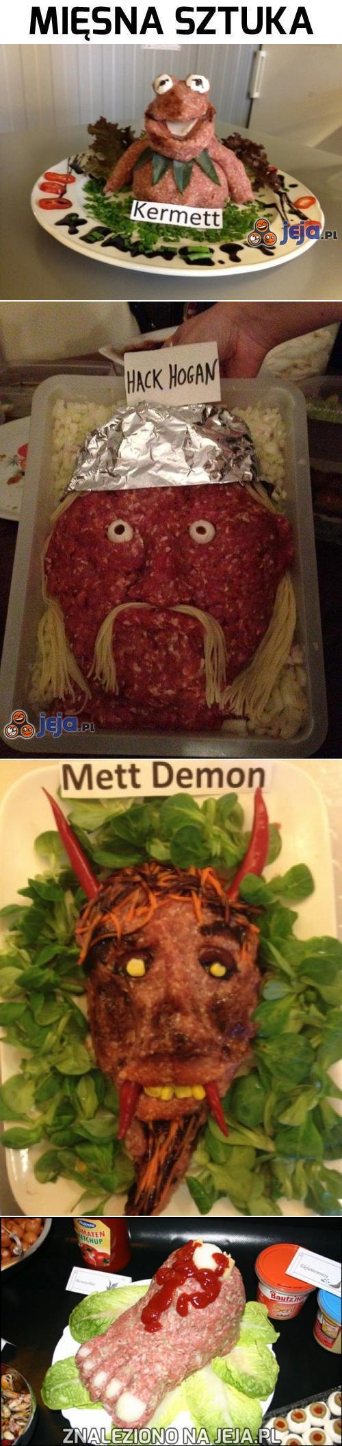 Mięsna sztuka