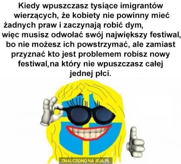 Szwecja radzi sobie z problemami!