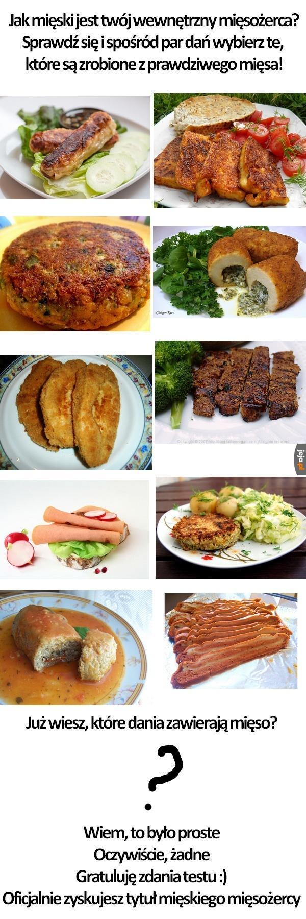 """Mięso czy """"wegemięso""""?"""