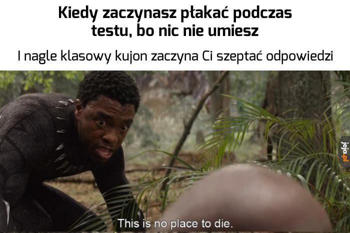 Dzisiaj nie zginiesz, przyjacielu