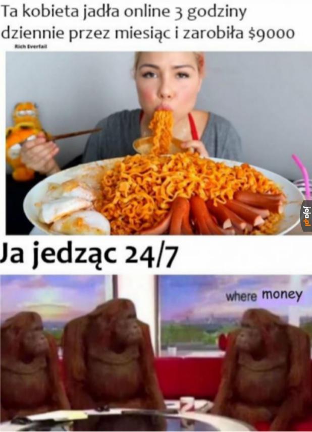 Gdzie moje pieniądze?