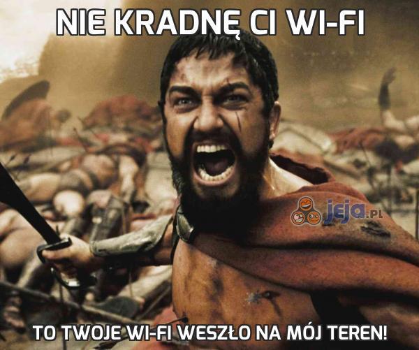 Nie kradnę Ci wi-fi