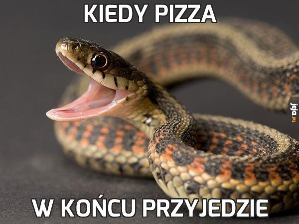 Kiedy pizza