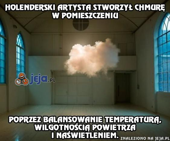 Chmura w pomieszczeniu
