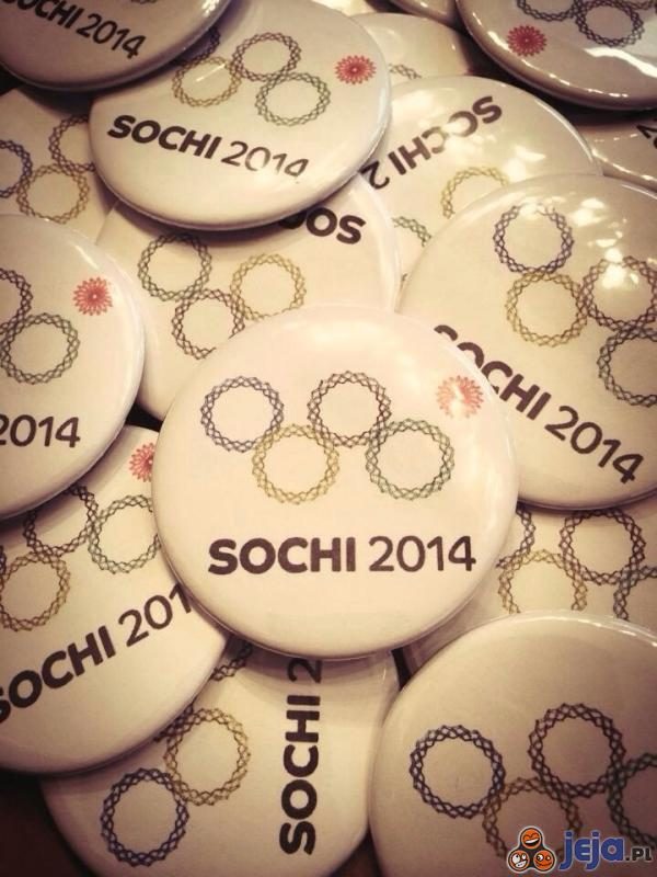 Plakietki Sochi 2014