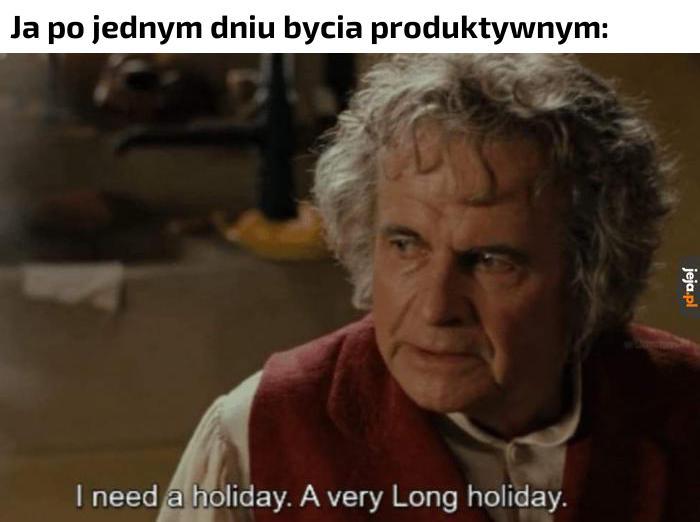 Bardzo długich wakacji