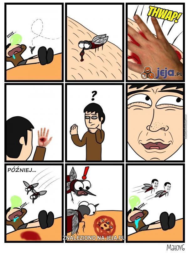 Skuteczny sposób na komary