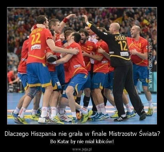 Dlaczego Hiszpania nie grała w finale Mistrzostw Świata?