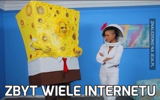 Zbyt wiele Internetu