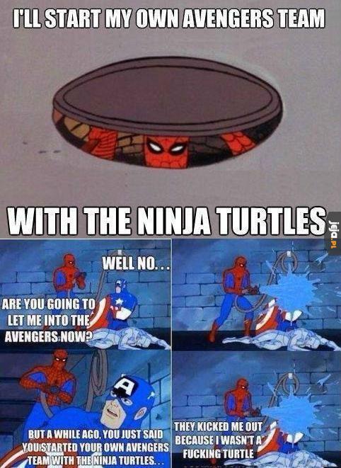 Spider-żółw