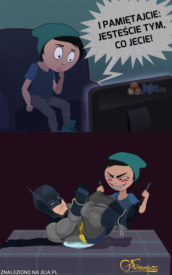 Ha, ha! Jestem Batman!