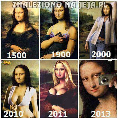 Przemiana Mona Lisy