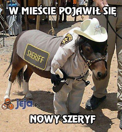 W mieście pojawił się nowy szeryf