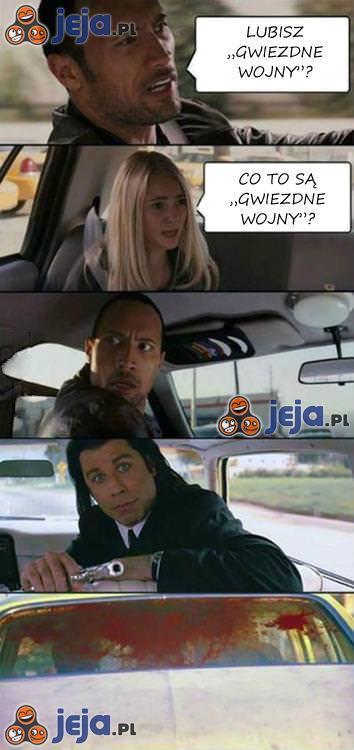 """Lubisz """"Gwiezdne Wojny""""?"""
