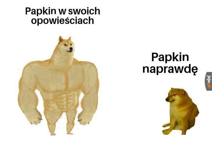 Jestem Papkin, lew Północy...