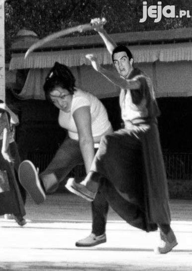 Mosh Girl i samuraj