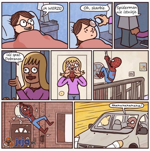 Spiderman nie istnieje