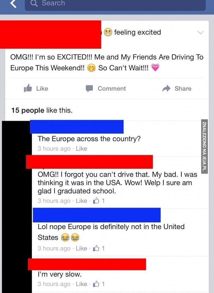 Europa w USA
