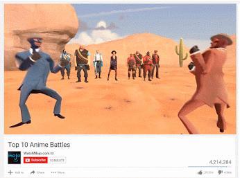 10 najlepszych walk w anime