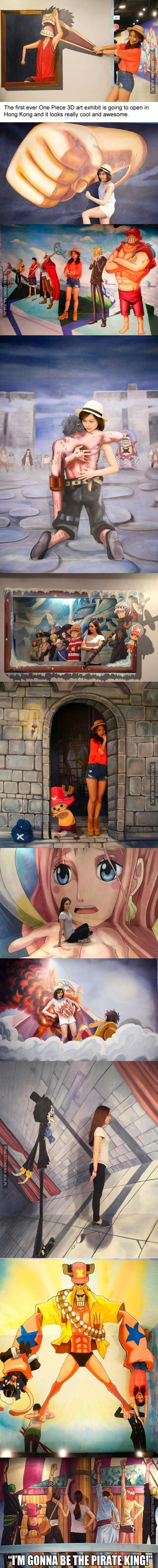 Pierwsze muzeum 3D One Piece