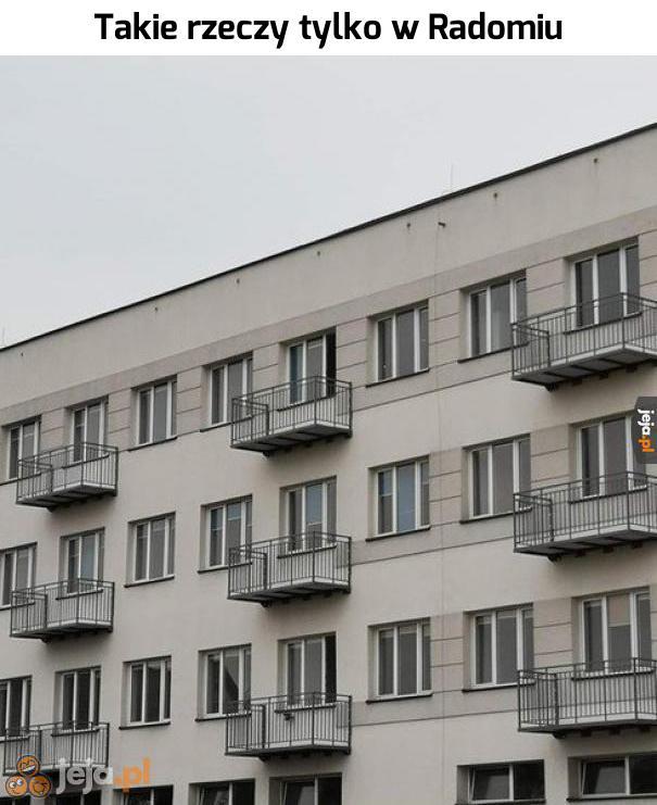 Balkon okienny