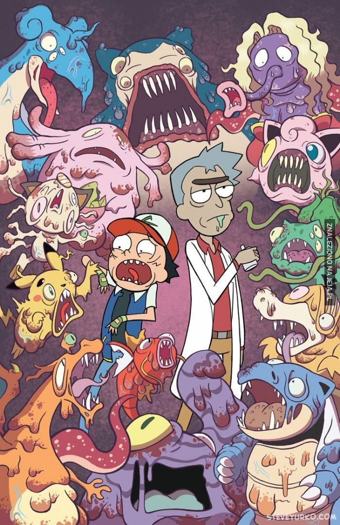 Rick i Morty + Pokemon