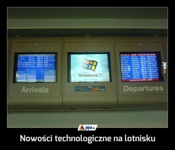 Nowości technologiczne na lotnisku