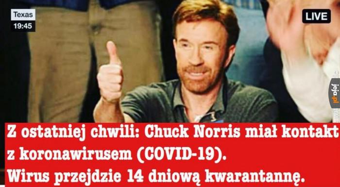 Chuck Norris potrafi