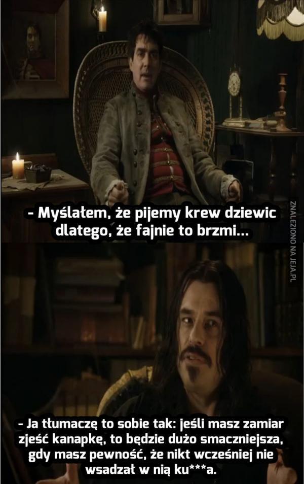 Między nami wampirami...
