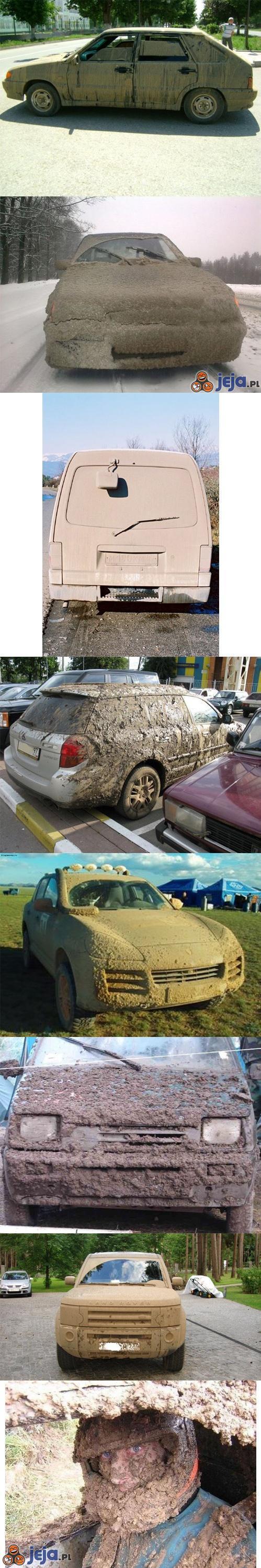 Brudny samochód