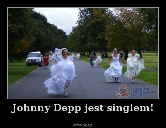 Johnny Depp jest singlem!