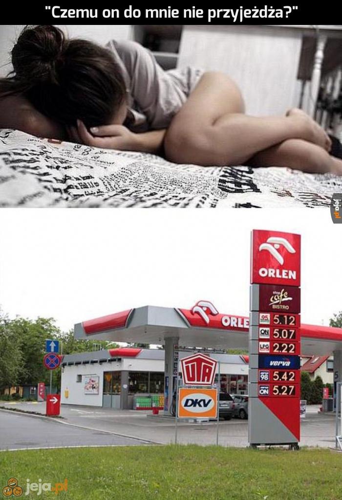 Ceny paliwa poszły w górę
