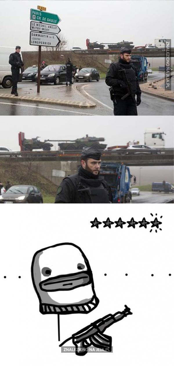 Jak się obecnie czują terroryści we Francji