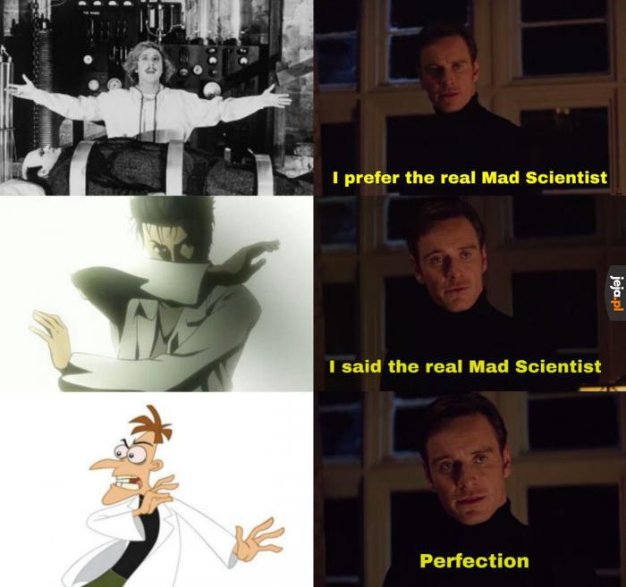 Perfekcyjny szalony naukowiec