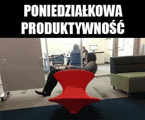Poniedziałkowa produktywność