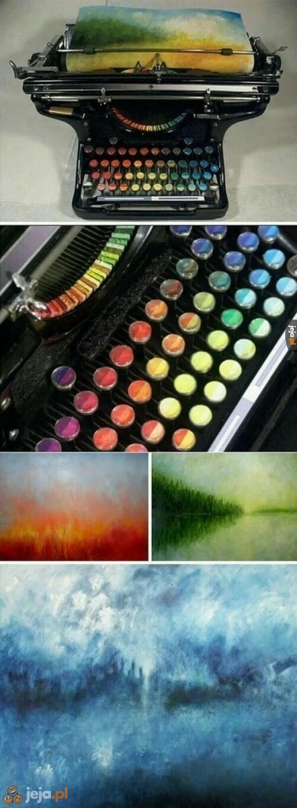 Malowanie na maszynie