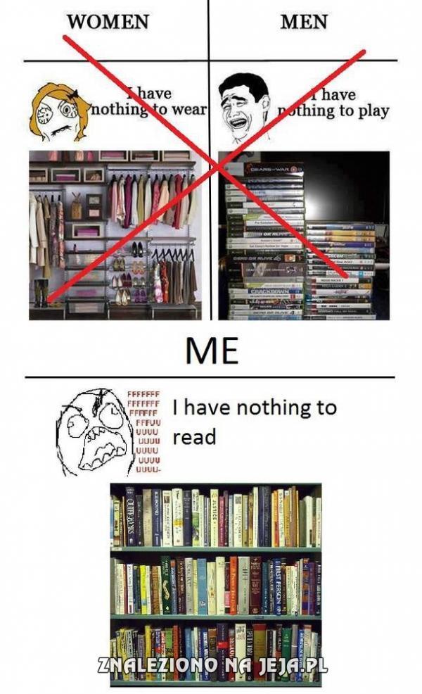 Nie mam nic do czytania