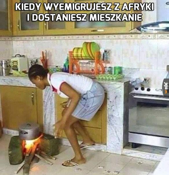 Przecież nie da się inaczej gotować