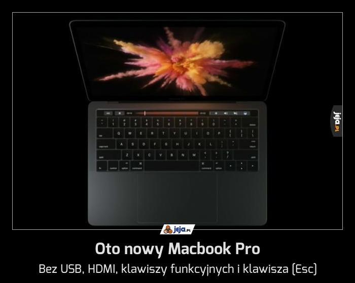 Oto nowy Macbook Pro