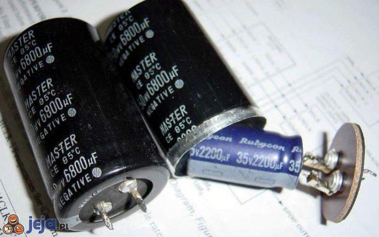 Chińskie kondensatory