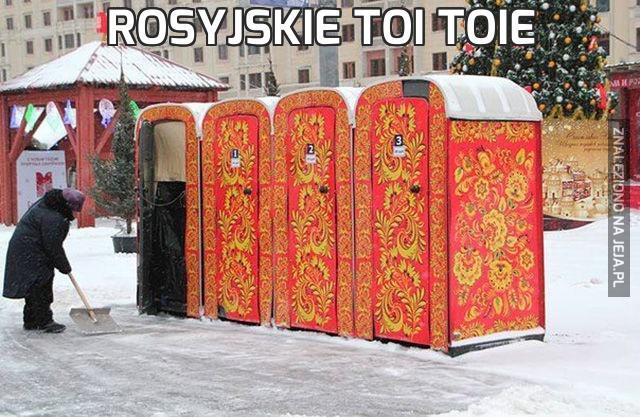 Rosyjskie toi toie