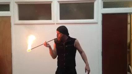 Połykacz ognia