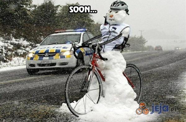 Zima się zbliża