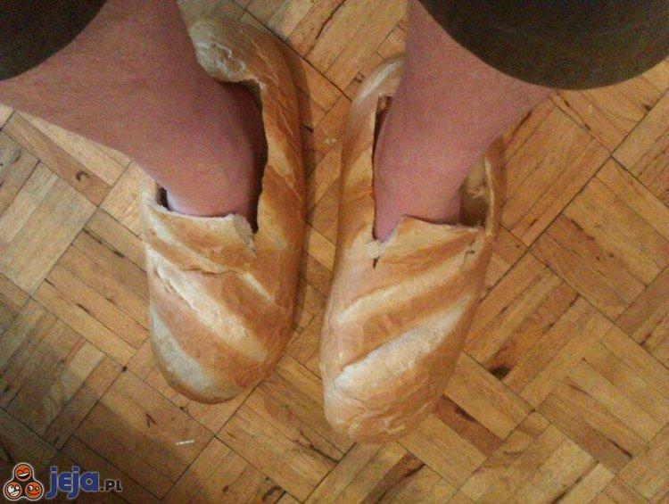 Chlebowe kapciuszki