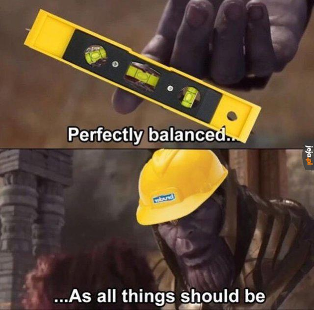 Idealna równowaga