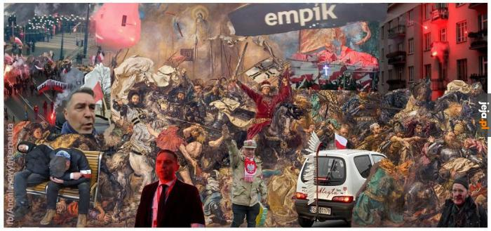 Bitwa o Polskę 2020, nie wymagało koloryzowania