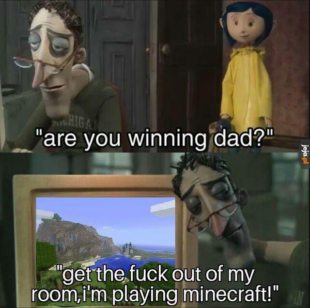 Tatuś jest zajęty
