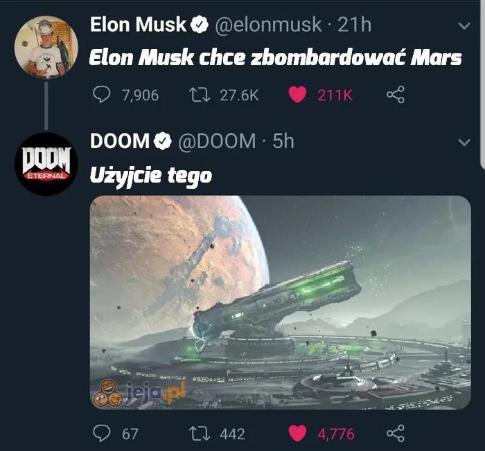 Dogada się z twórcami Dooma