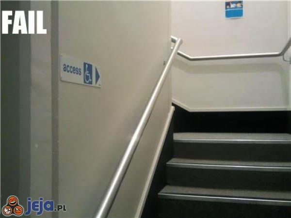 Wejście dla niepełnosprawnych